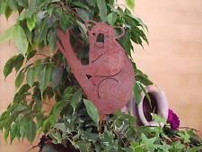 Edelrost Koalabär, Gartenstecker, Gartendekoration, Rost, Gartendeko, Metall