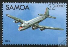 DOUGLAS DC-4 DC4 Commercial Airplane Aircraft Stamp