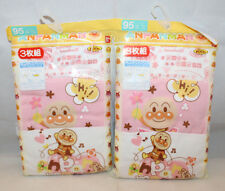 Anpanman Japanese Anime Bandai Baby Training Pants Set of 2 White Pink Size 95