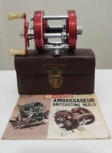 Vintage Mid 1960's Abu Garcia Ambassadeur 5000A With Case. Casting Reel.