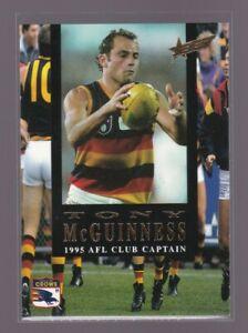 1995 Select CLUB CAPTAIN Card  / Tony McGuiness / Adelaide / #CC1