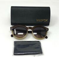 WildFox HARPER Sunglasses Womens Dark Brown / Grey Ombre Authentic New in Box