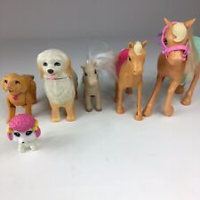 Mixed Lot of 3 Horses & 3 Dogs-Mattel Barbie Horse & Dog & other Brands of Toys