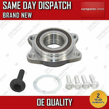 AUDI A6 2.0 2.4 2.8 3.0 3.2 FRONT WHEEL BEARING + BOLTS 2004>2011 W/ ABS 4 STUD