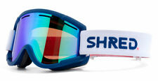 SHRED NASTIFY Goggles - NEW- Premium Cylindrical Lens - Warranty +Goggle Sleeve