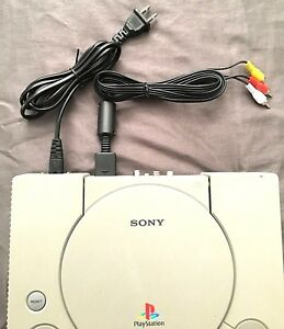 New PS1 AV Cable & AC Power Cord Bundle (Sony Playstation)