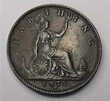 More details for 1875 farthing coin