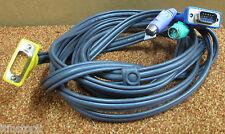 Aten 2L-5203P 10 FT (ca. 3.05 m) (3 M) VGA/PS/2 Tastiera e Mouse KVM Cavo, Z7AB332