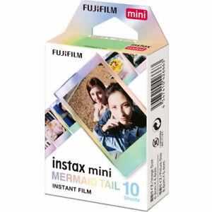 Fujifilm Instax Mini MERMAID TAIL Film (10 Shots)