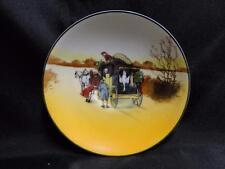 "Royal Doulton Coaching Days, Coach w/ Hanging Animals: 5 1/2"" Saucer (s) Only, 9"