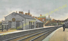 Shildon Railway Station Photo. Bishop Auckland to Heighington and Stockton. (12)