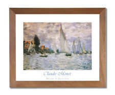 The Magpie by Claude Monet Giclee Fine ArtPrint Reproduction on Canvas