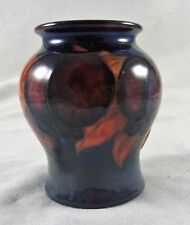 FABULOUS ANTIQUE VINTAGE WILLIAM MOORCROFT  VASE  FLAMBE WISTERIA C 1920'S