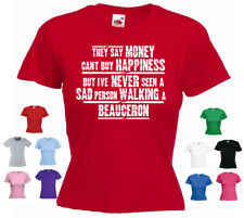 'Beauceron'- They say Money can't buy.' - Ladies Dog T-shirt