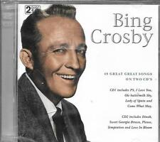 DOUBLE CD 49 TITRES  BING CROSBY BEST OF NEUF SCELLE