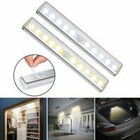 6 LED Capteur de mouvement Éclairage Sans Fil Lumière Armoire cabinet veilleuse