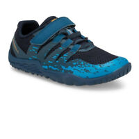 Merrell Boys Trail Glove 5 A/C Running Shoes Trainers Sneakers Blue Green Sports