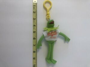 Wendy's Kids Meal Toys - Muppets In Space - Kermit the Frog Keychain 1999