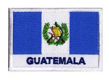 Écusson patche drapeau patch pays GUATEMALA 70 x 45 mm à coudre brodé