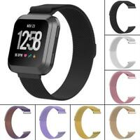Magnetic Milanese Loop Stainless Steel Band Strap for Fitbit Versa Smart Watch