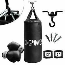 Saco De Boxeo Guantes Ejercicios Gimnasia Fitness Musculación Kingpower