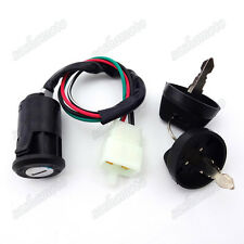 Key Ignition Switch For Eton ATV All 2 & 4 stroke 50 70 90 cc E-ton 650720 Quad