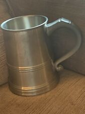 Royal Selangor Pewter Iceberg Tankard Double Walled Keeps Your Drink Cool