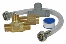 Camco Boat RV Marine Quick Turn Permanent Waterheater Bypass Kit For Winterizing