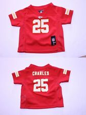 Infant/Baby Kansas City Chiefs Jamall Charles 3/6 Months Jersey (Red) NFL Team A