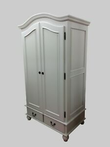 French Single Wardrobe - Ready Assembled - Handmade - Painted in any Colour