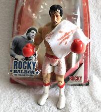 ROCKY BALBOA • POST APOLLO FIGHT WHITE TRUNKS • ROCKY JAKKS FIGURE