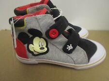 Disney Mickey Cotton  High Top Sneakers Shoes Boys' 12