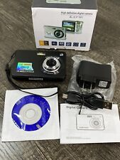 HD Mini Digital Cameras for Kids Teens Beginners,Point and Shoot