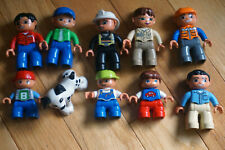 Lot of 10 Lego Duplo Figures Good Mix As Shown LOT C