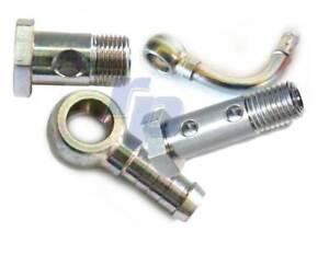 Ringnippel Doppel-Hohlschraube Schlauchanschluss Dichtring Ringöse Diesel Benzin