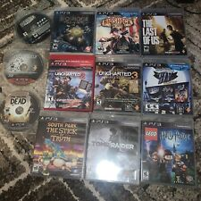 Playstation 3 video games lot The Last Of Us Bioshock Infinite Uncharted Sly Cib