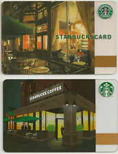 Starbucks Gift Card - Evenings at Starbucks - Classic Evening Set - Collector