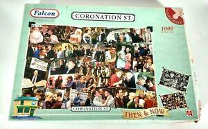 Coronation Street  Falcon Deluxe Puzzle 1000 Pieces Retro Vintage