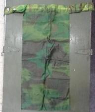 VIETNAM WAR ERA - THEATER MADE CAMO SCARF / BIB FROM PONCHO LINER -   #U184