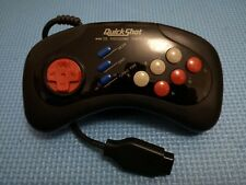 Sega Megadrive Quickshot 6 Button Controller : QS-173 : Very Good Condition