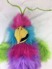Pink Purple Large Bird Puppet by The Puppet Company with squeaker