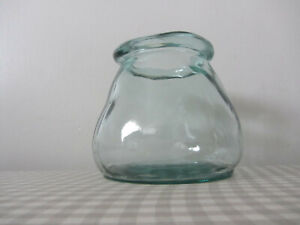 """Home Recycled Large Glass Vase Bottle height 5.5"""" New,"""