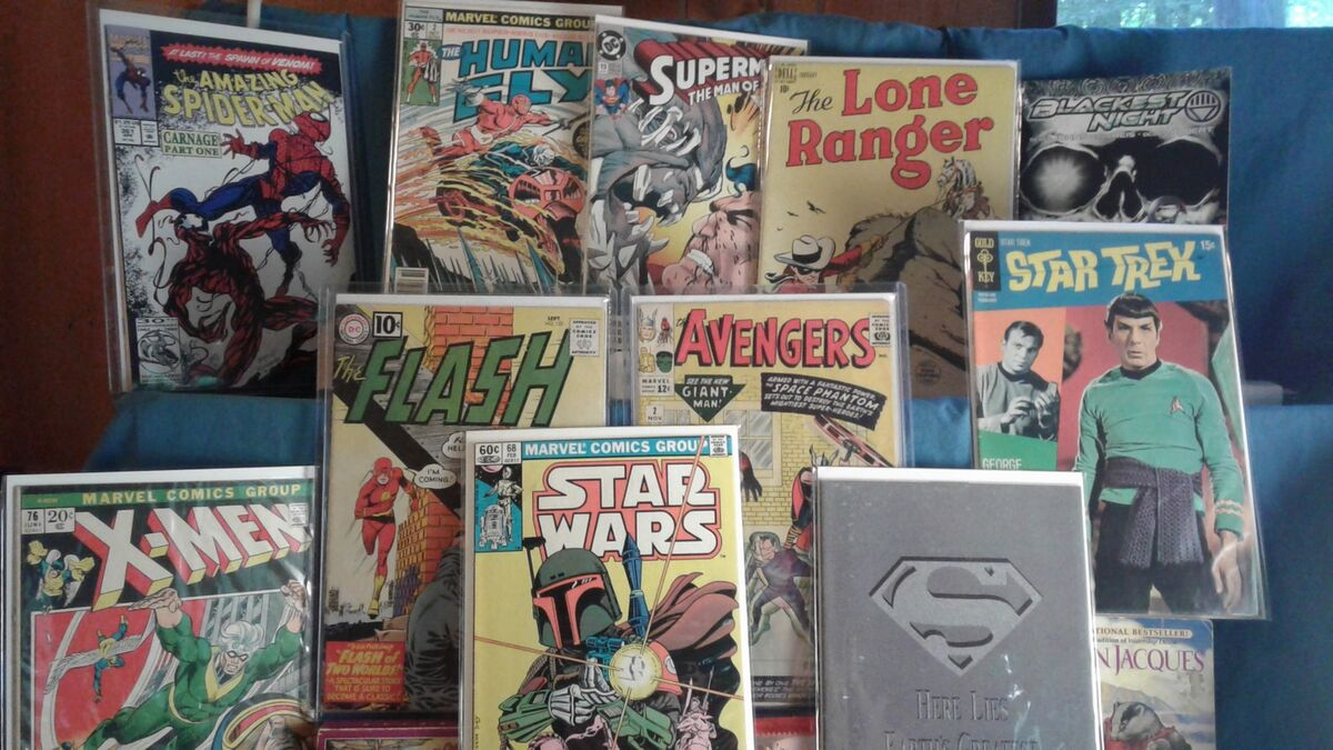 JB Comic Collections