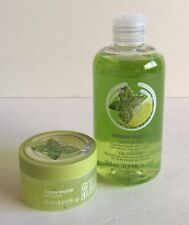 THE BODY SHOP VIRGIN MOJITO SHOWER GEL BODY SCRUB