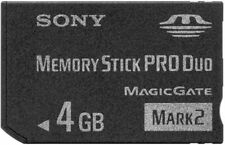 Sony Memory Stick PRO DUO 4GB, Nero