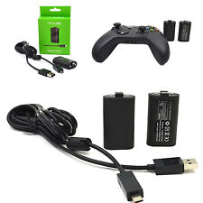 For Microsoft XBOX ONE Wireless Controller Battery Charging Play and Charge Kit