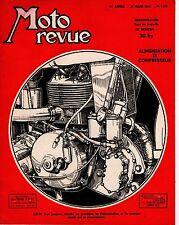 MOTO REVUE 1129 ALIMENTEUR ET COMPRESSEUR 1953