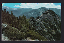 vintage 76 Union Oil El Morro Rock Sequoia National Park California postcard