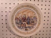 Lafayette & Washington 1974 D'Arceau Limoges France US History Collector Plate