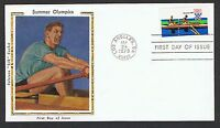 1979 15c Olympics set on 4 Colorano 'Silk' FDC's NS370-3